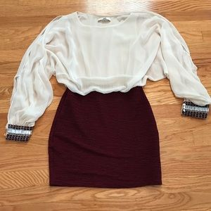 Dresses & Skirts - Boutique Bought Illusion Dress